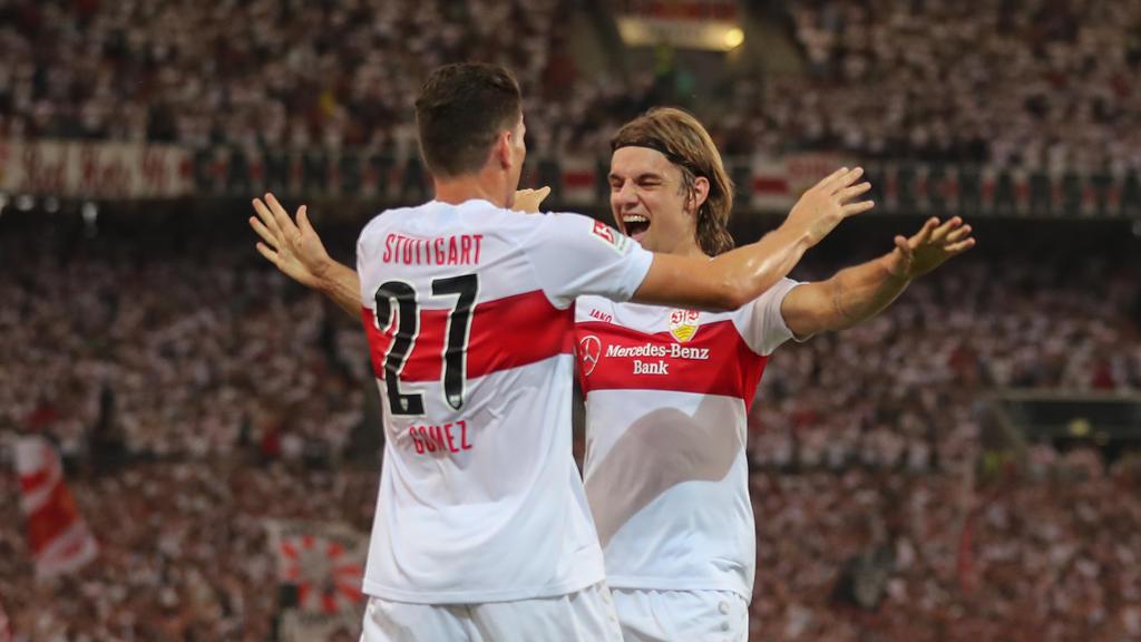Gomez und Sosa werden in Regensburg nicht für den VfB Stuttgart jubeln können