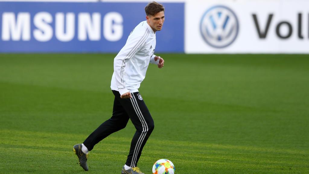 Niklas Stark darf auf weitere Nominierungen für die Nationalmannschaft hoffen