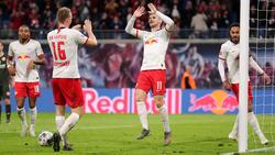 Überragender RB-Akteur gegen Mainz: Timo Werner (M.)