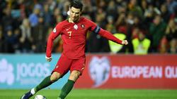 Cristiano Ronaldo und Portugal sind für die EM qualifiziert
