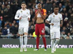 Steven Nzonzi disputó el duelo Champions frente al Madrid en el Bernabéu.