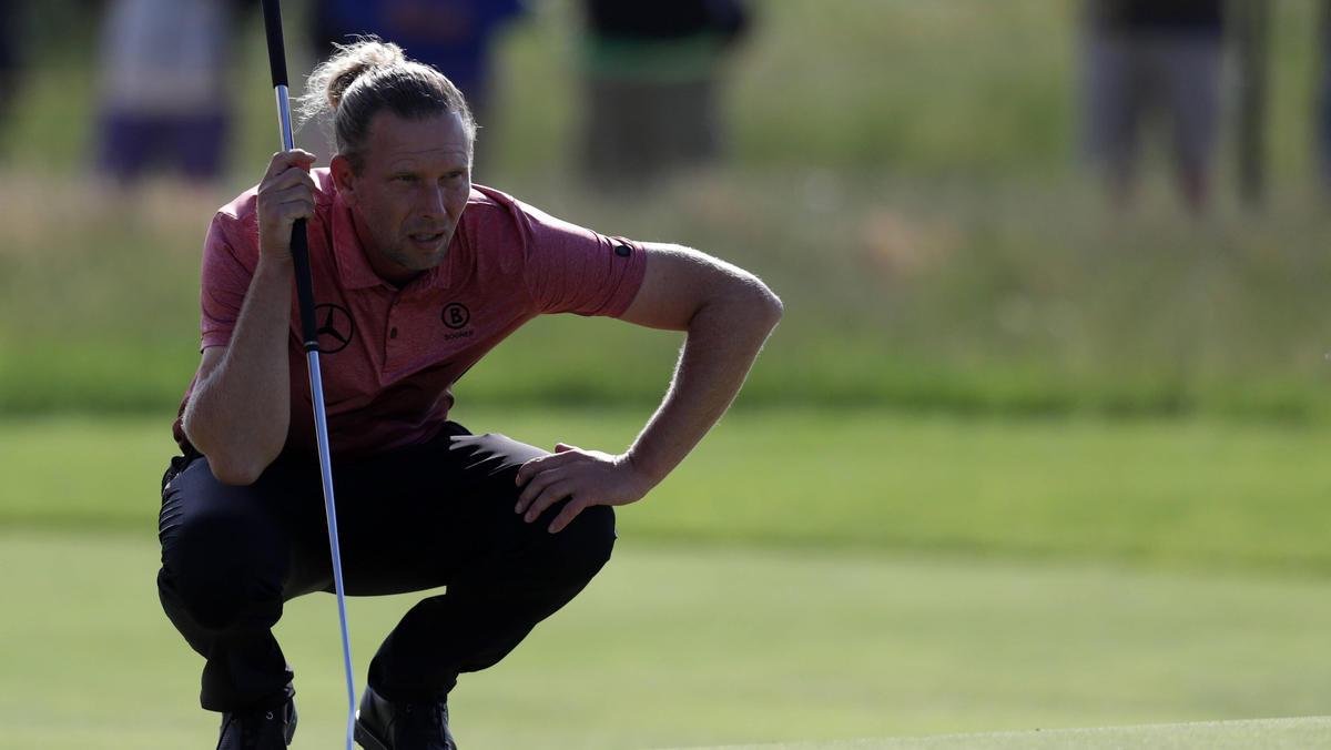 Marcel Siem golft bei den British Open in der Spitzengruppe mit