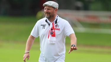 Steffen Baumgart geht in seine erste Saison als Trainer des 1. FC Köln