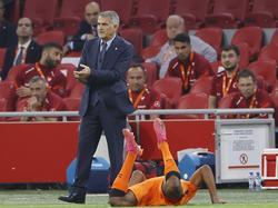 Senol Günes en el último partido ante Países Bajos.