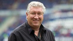 Der ehemalige Torjäger Dieter Schatzschneider wünscht sich einen echten Mittelstürmer-Typen in der Nationalmannschaft. Foto: Jens Wolf/dpa-Zentralbild/dpa