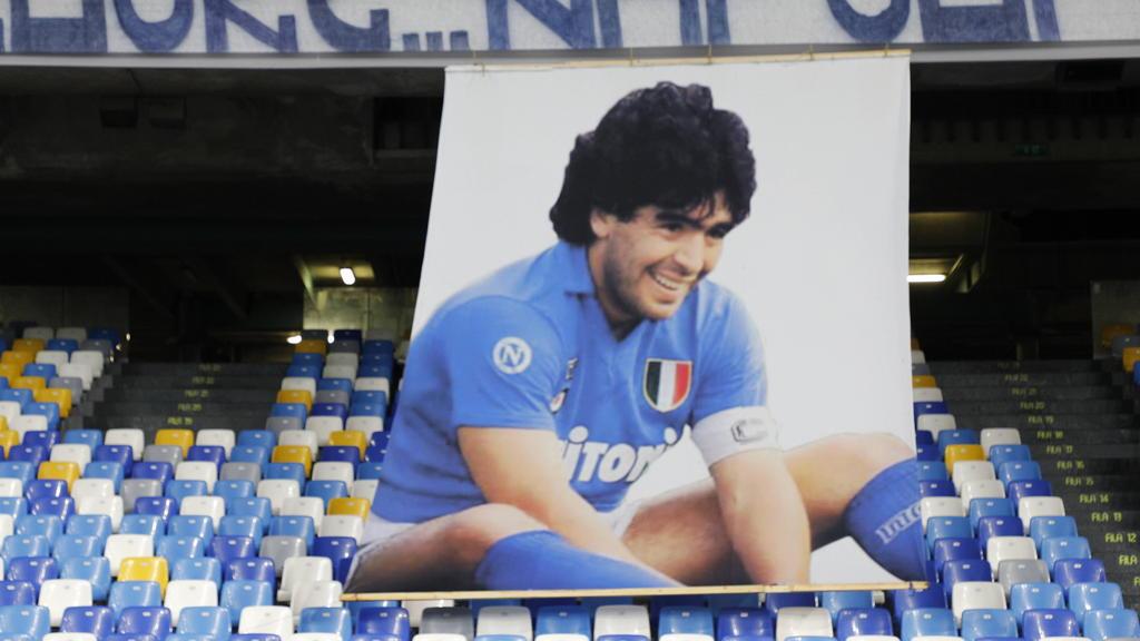 Der Sieg des SSC Neapels stand ganz im Zeichen Maradonas