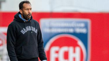 Daniel Thioune und der HSV stecken in einer Krise