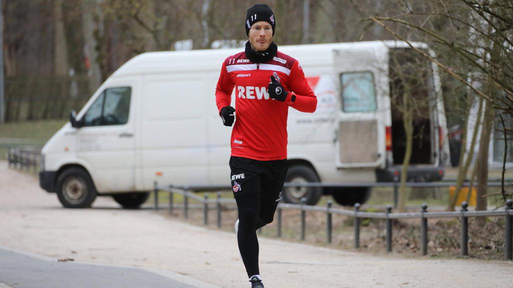 Hat beim FC Köln wieder Teile des Trainings mit der Mannschaft absolviert: Florian Kainz