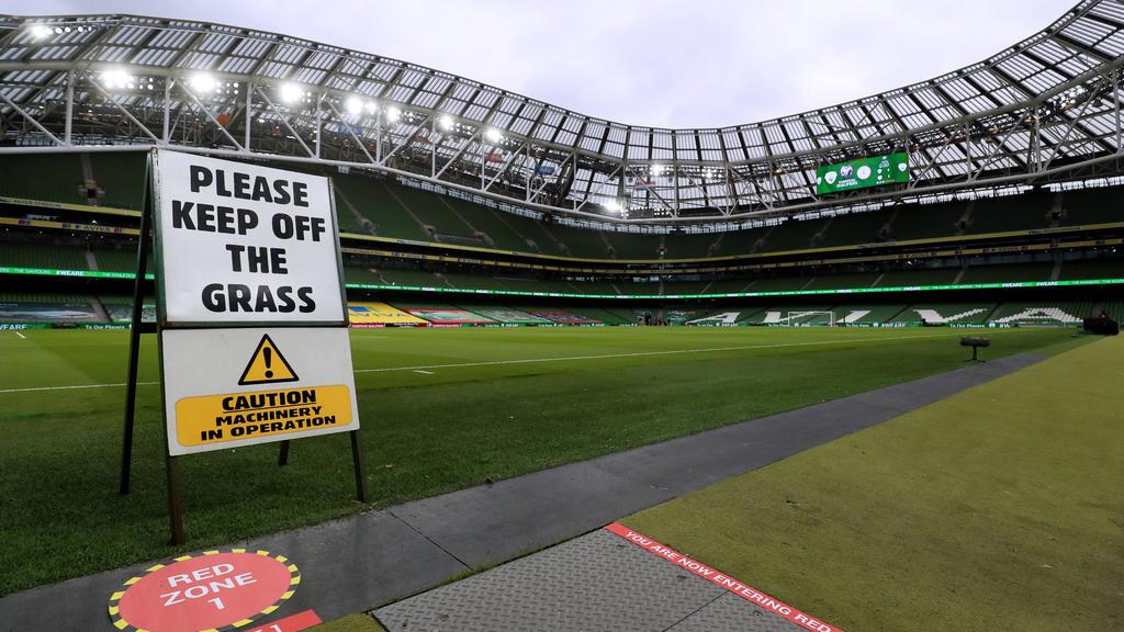 Fällt Irland als EM-Spielort weg?