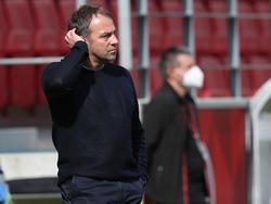 Bayern-Trainer Flick konnte die Niederlage nur schwer verdauen