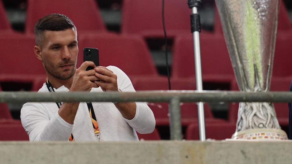 Podolski schielt auf den Pokal