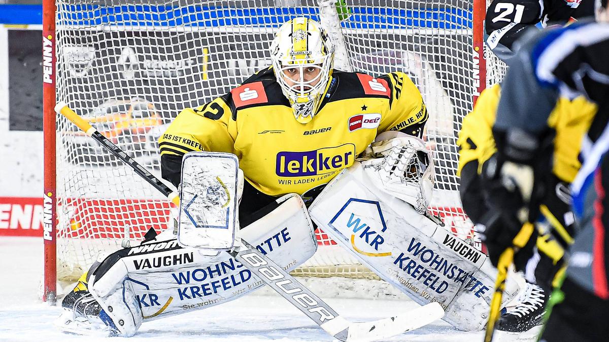 Belov bleibt in Krefeld