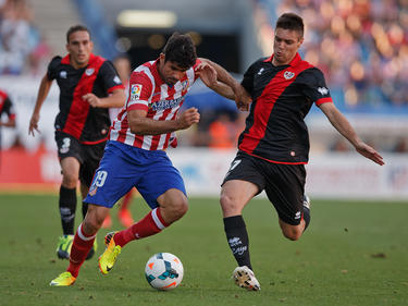 Leonel Galeano (r.) beackert Atléticos Diego Costa