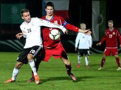 U17: Deutschland unterliegt Tschechien mit 0:1