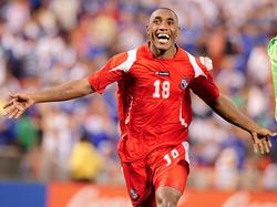 Luis Tejada im Einsatz für Panama