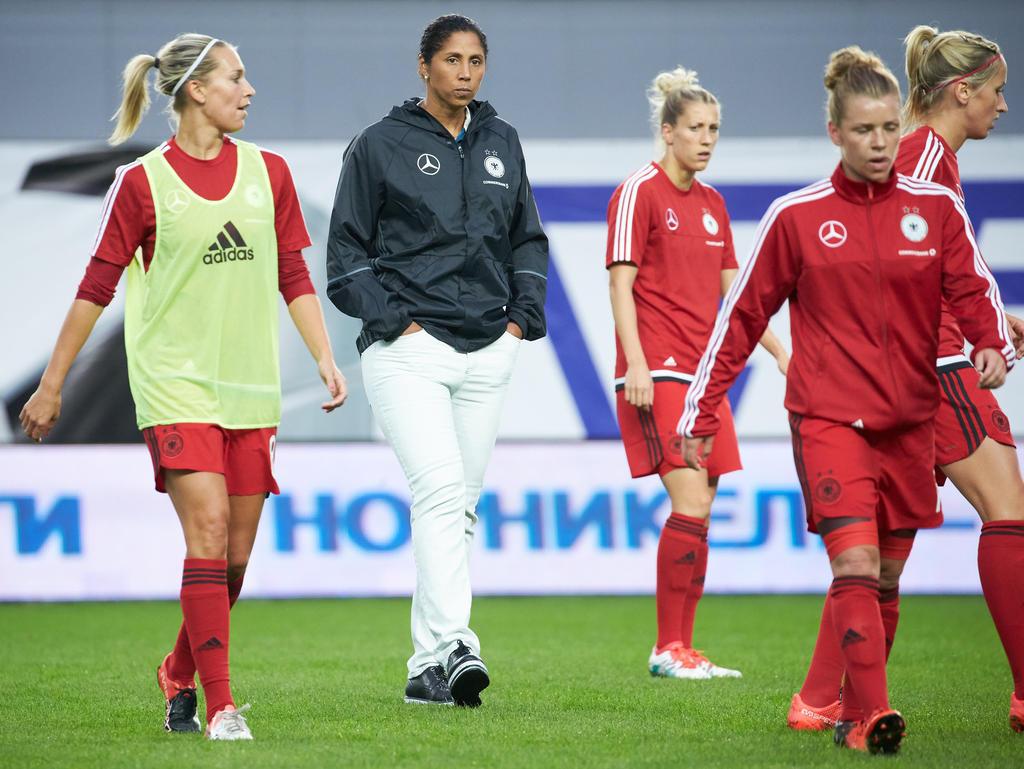 Die DFB-Damen halten sich auch unter Steffi Jones schadlos