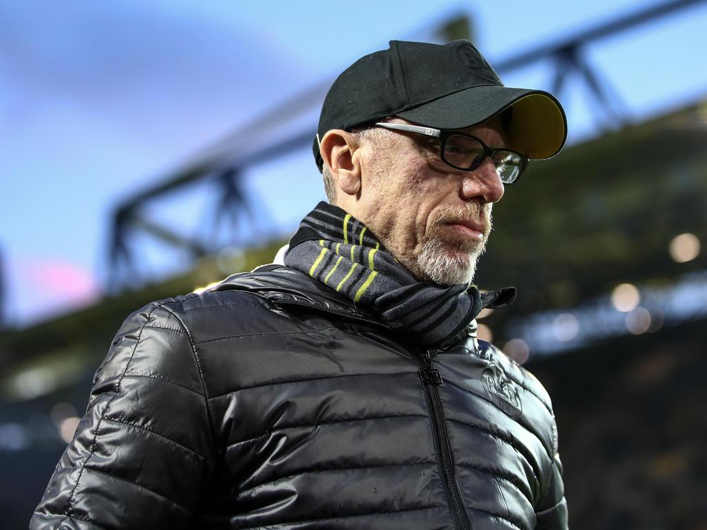 Peter Stögers Zukunft beim BVB ist nach wie vor offen