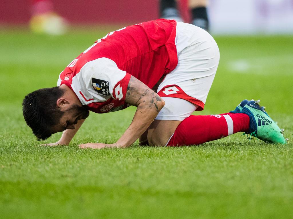 Danny Latza fehlt dem FSV Mainz gegen den BVB