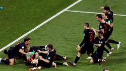 La selección croata ve cada vez más cerca el sueño de ser campeón. (Foto: Getty)