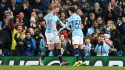 Manchester City schlägt den FC Fulham im League Cup