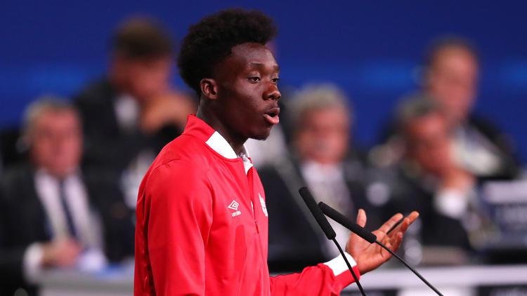 Alphonso Davies soll beim FC Bayern das Gesicht der Zukunft werden