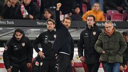 Gewann gegen Augsburg und Nürnberg: Markus Weinzierl (M.)