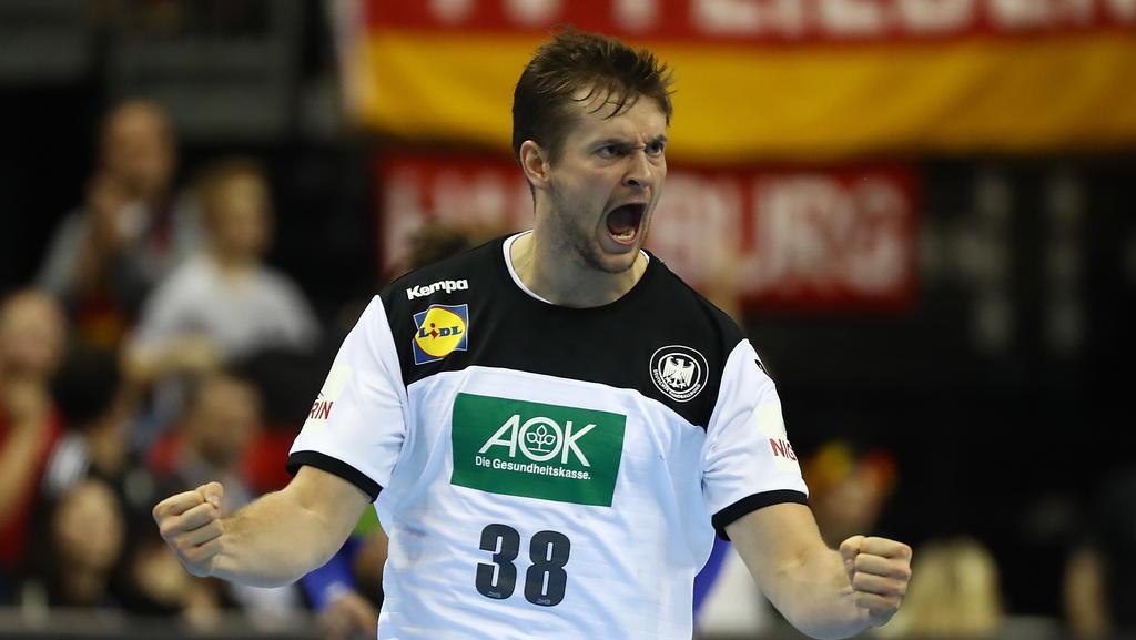 Fabian Böhm glaubt fest an einen Sieg des DHB-Teams gegen Norwegen