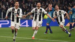 Juventus schlägt Atlético Madrid in der Champions League