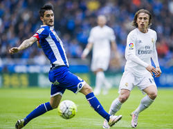 Luis Alberto en un partido de Liga contra el Real Madrid. (Foto: Getty)