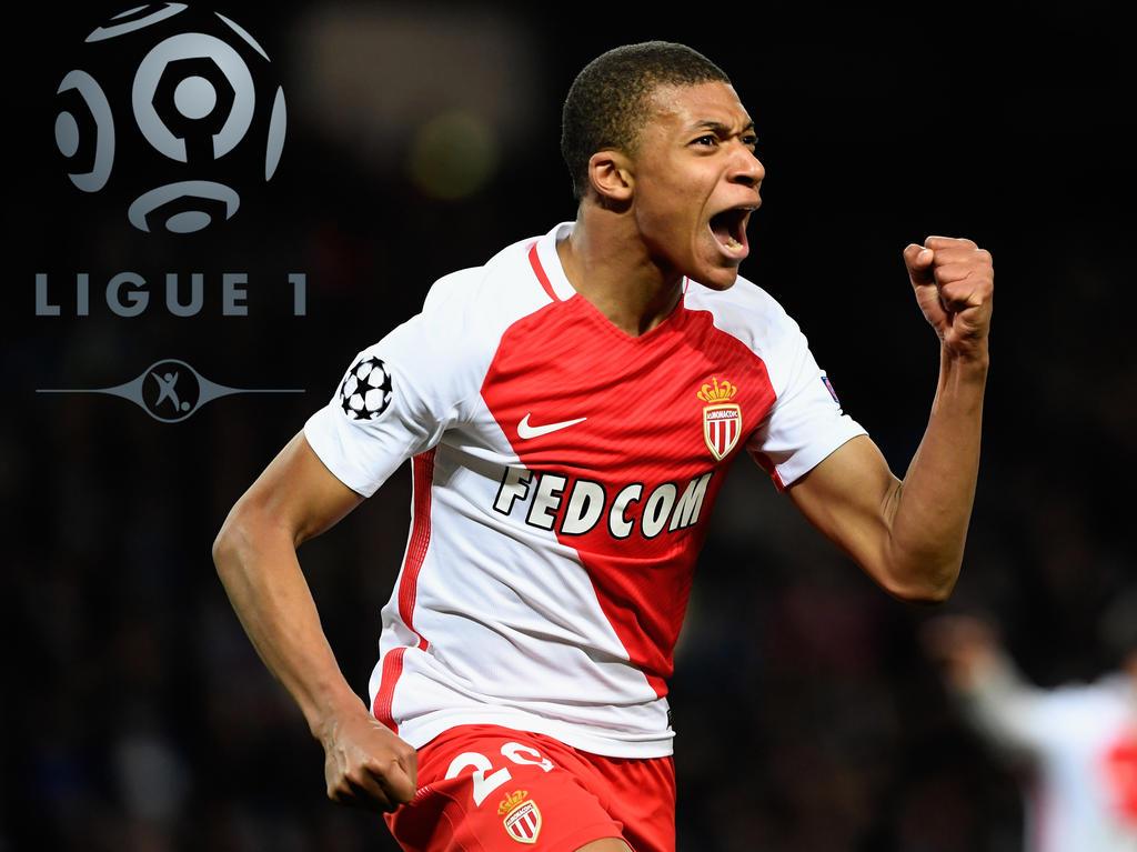 Kylian Mbappé ist der Shooting-Star beim AS Monaco
