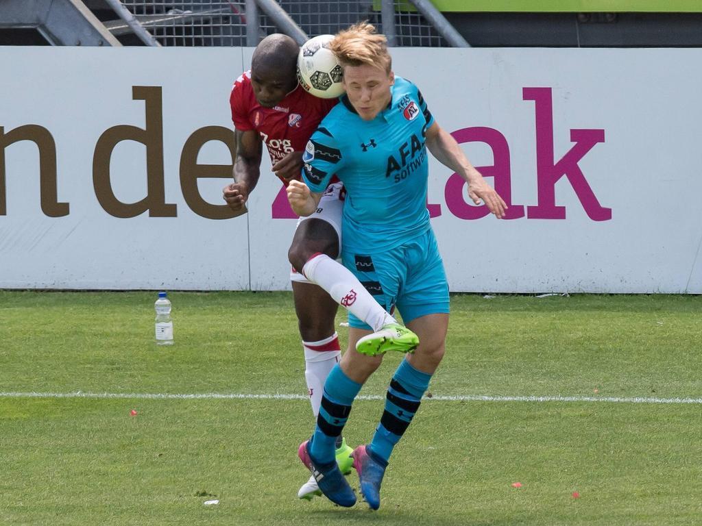 Edson Braafheid (l.) spielte einst für Bayern München