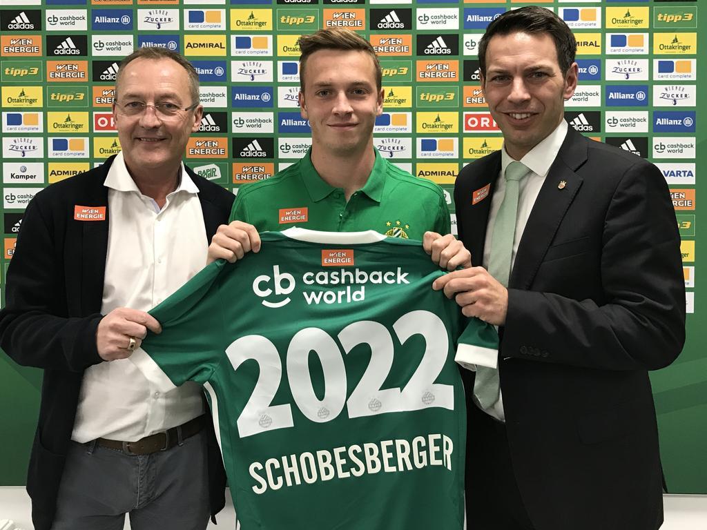 Nein, das ist nicht die neue Rückennummer von Philipp Schobesberger