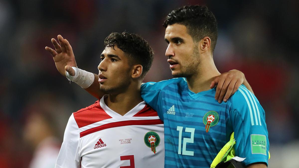 Achraf Hakimi spielte gegen die Elfenbeinküste durch