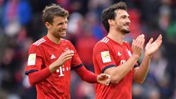 Thomas Müller und Mats Hummels sind auf dem Platz wieder Gegner