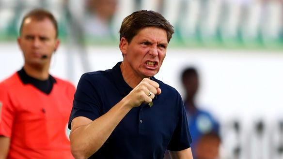 VfL-Coach Glasner konnte nicht ganz zufrieden sein