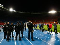 Erhöhte Polizeipräsenz beim Länderspiel Österreich gegen Israel
