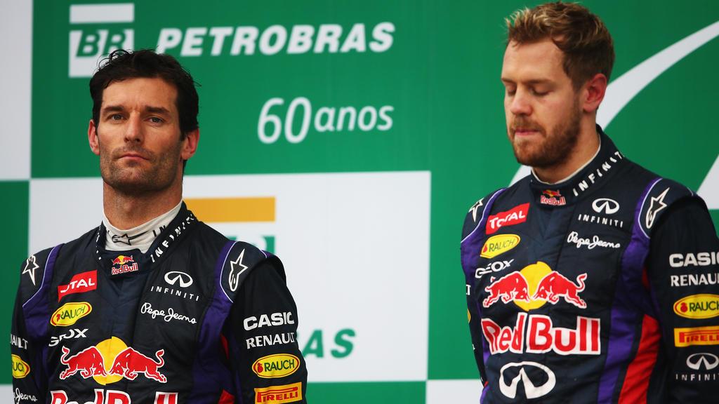 Mark Webber und Sebastian Vettel waren fünf Jahre lang Teamkollegen