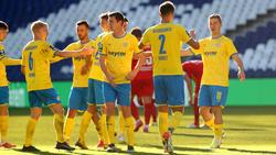 Klarer Sieg für Eintracht Braunschweig