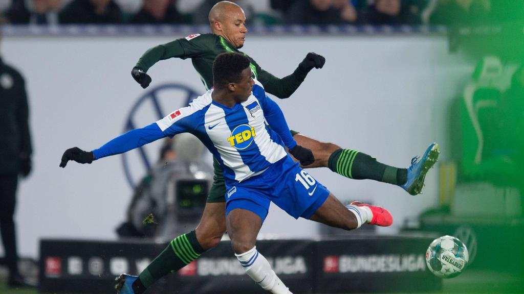 Die Hertha erkämpfte sich einen wichtigen Dreier in Wolfsburg
