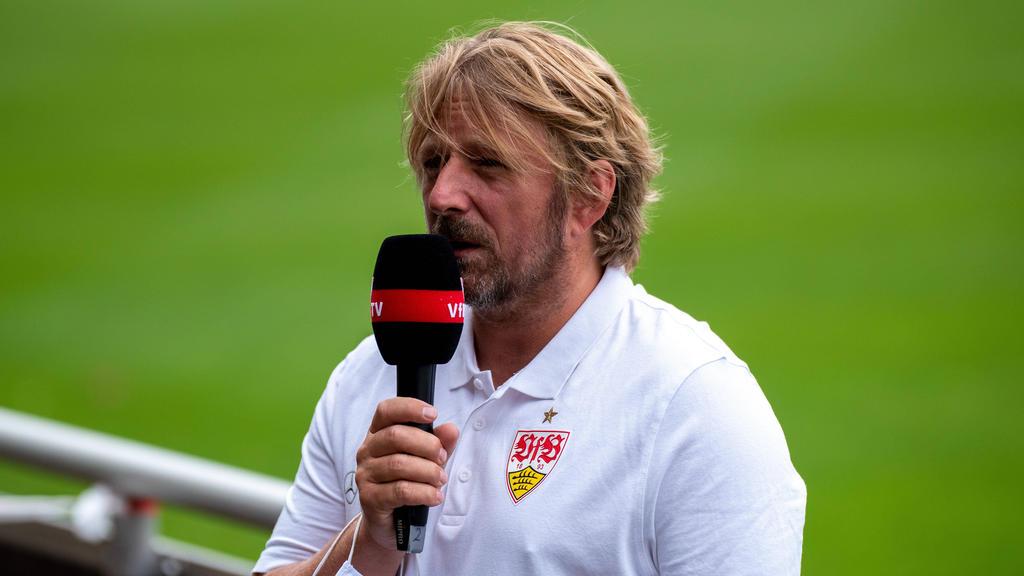 Kann sich vorstellen noch lange beim VfB Stuttgart zu bleiben: Sportdirektor Sven Mislintat