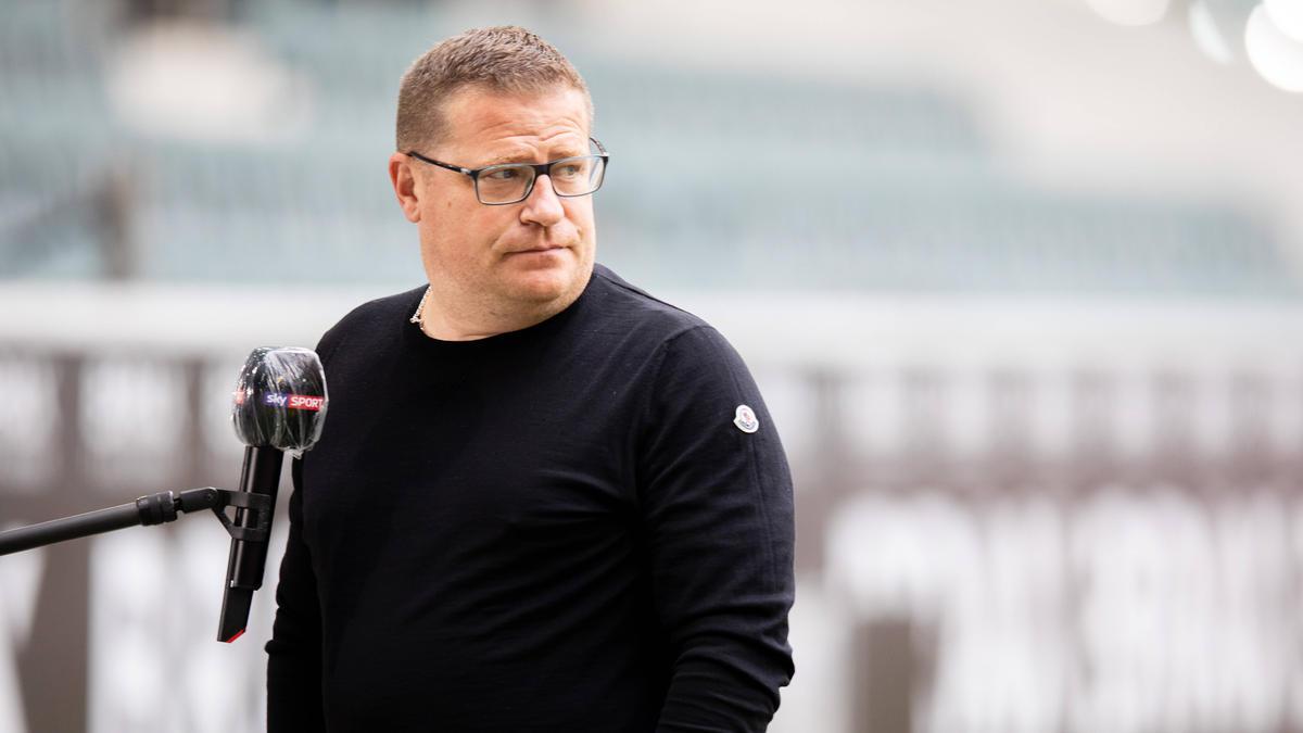 Will niemanden abgeben: Gladbach-Sportchef Max Eberl
