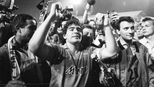 Diego Maradona ist seit 2017 fester Bestandteil von FIFA Ultimate Team