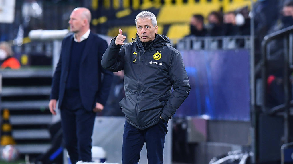 Lucien Favre hat nicht nur ein System beim BVB im Sinn