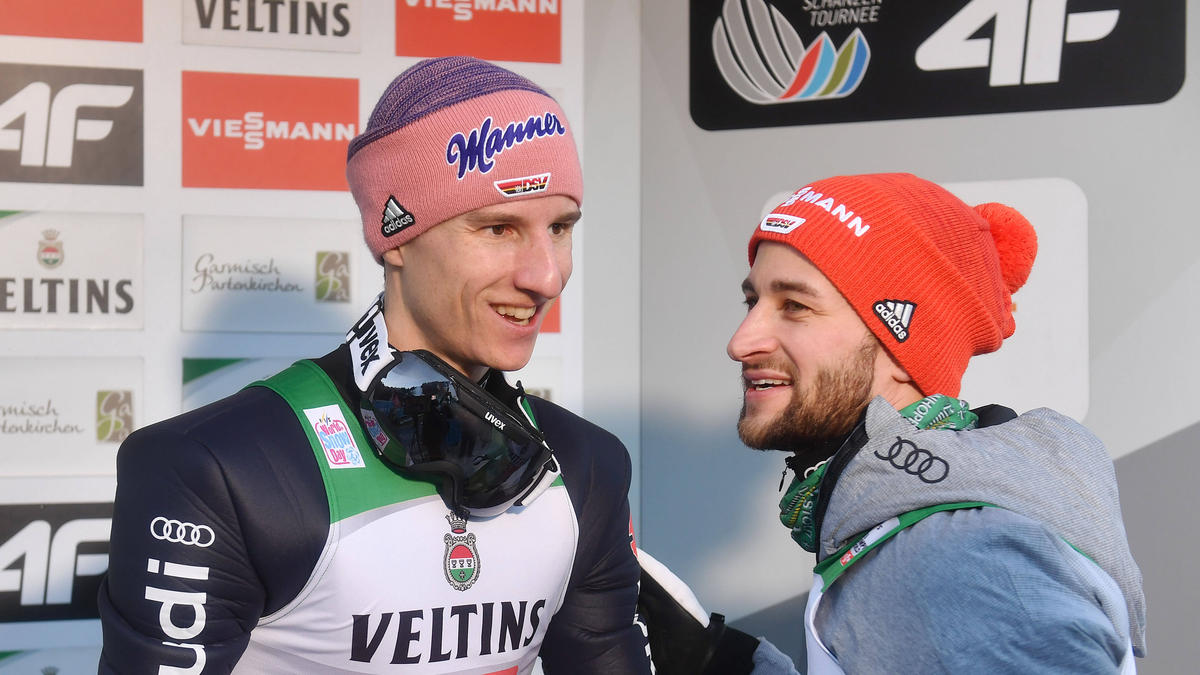 Geiger und Eisenbichler starten am Samstag in Finnland
