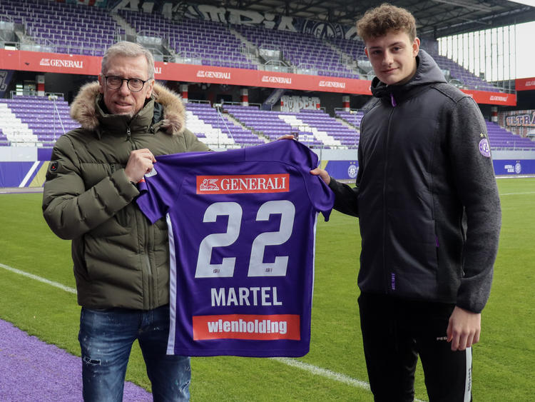 Eric Martel verstärkt ab sofort das Team von Peter Stöger