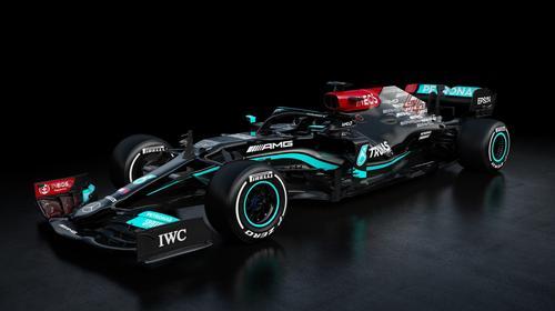 So sieht der neue Mercedes für die Formel-1-Saison 2021 aus