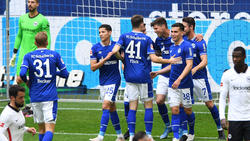 Der FC Schalke 04 erzielte vier Treffer
