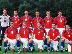 Tschechiens U18 bei der EM 2000