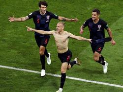 Die Kroaten treffen im Halbfinale auf England. © Getty Images/Catherine Ivill
