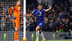 Pedro trifft zum 3:1-Endstand...